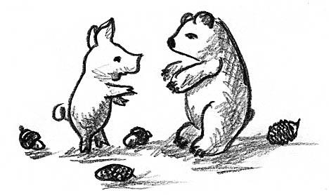 PIG AND BEAR-1